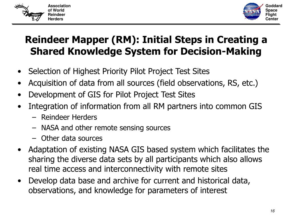 Reindeer Mapper (RM): Initial Steps in Creating a Shared Knowledge System for Decision-Making