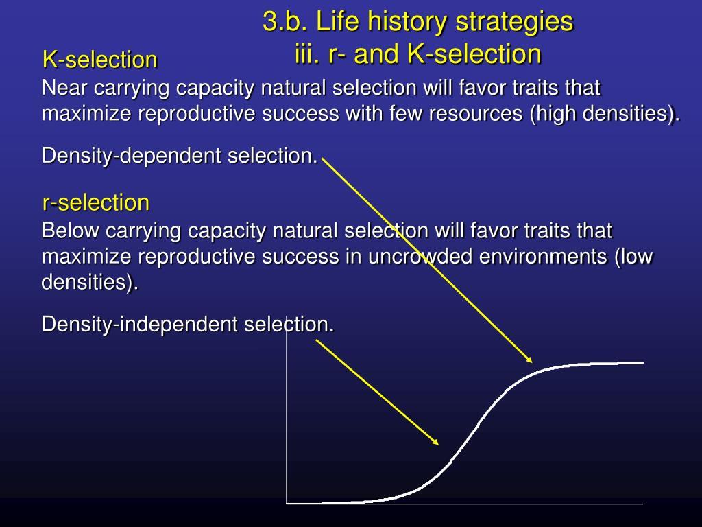 3.b. Life history strategies