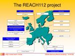 the reach112 project