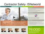 contractor safety isnetworld