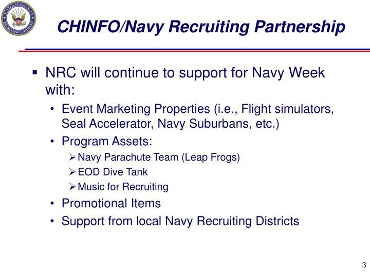 CHINFO/Navy Recruiting Partnership