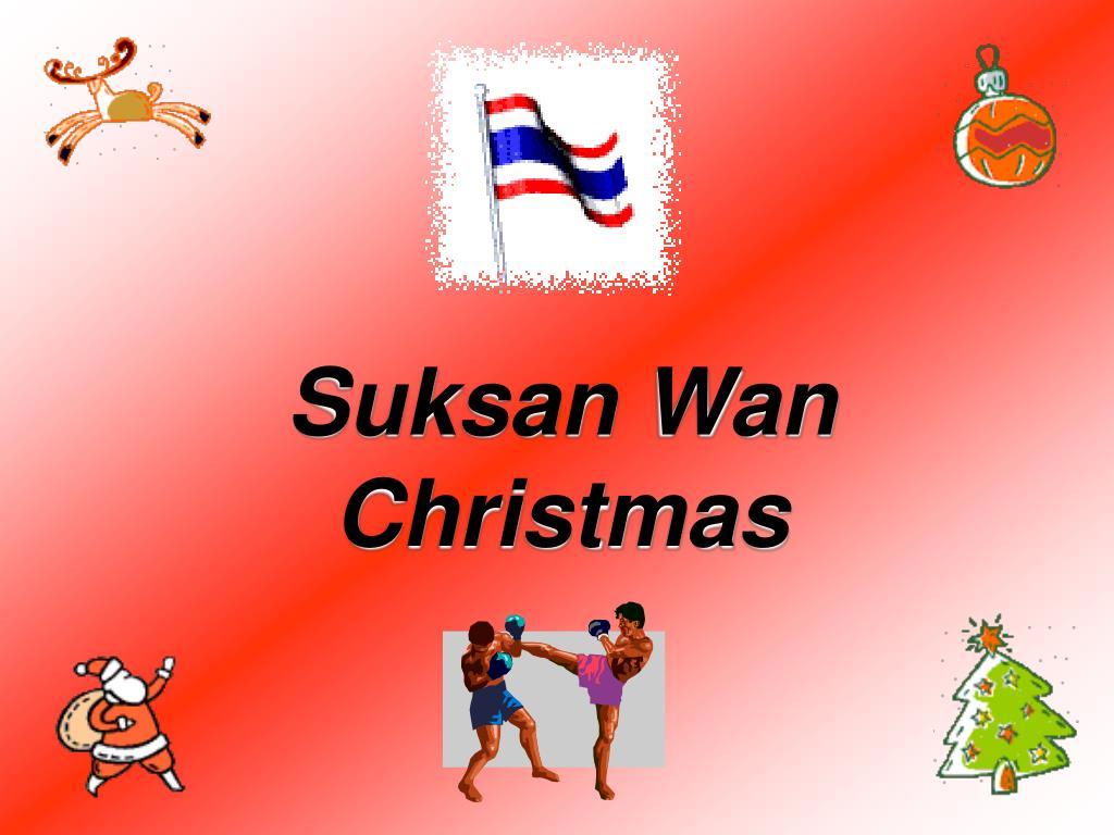 Suksan Wan Christmas
