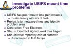 investigate ubifs mount time problems