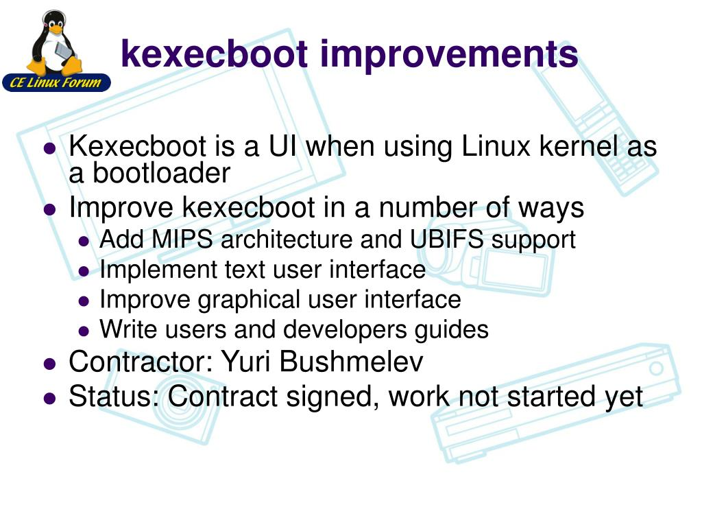 kexecboot improvements