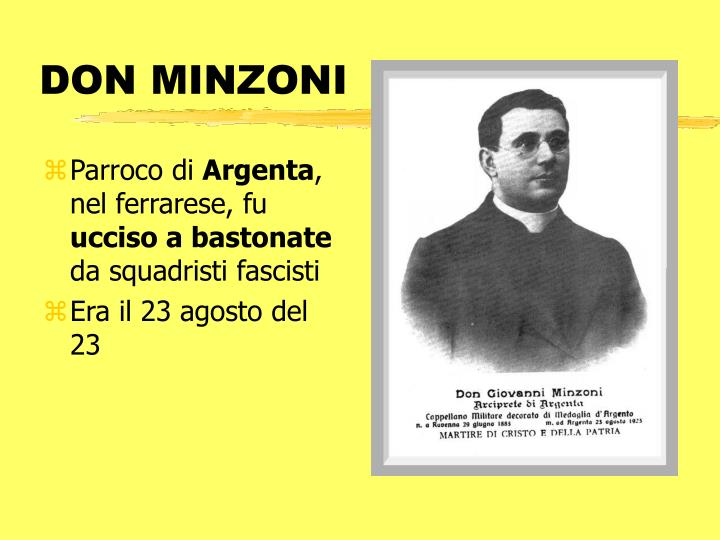 DON MINZONI