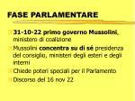 fase parlamentare