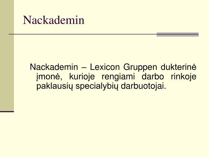 Nackademin