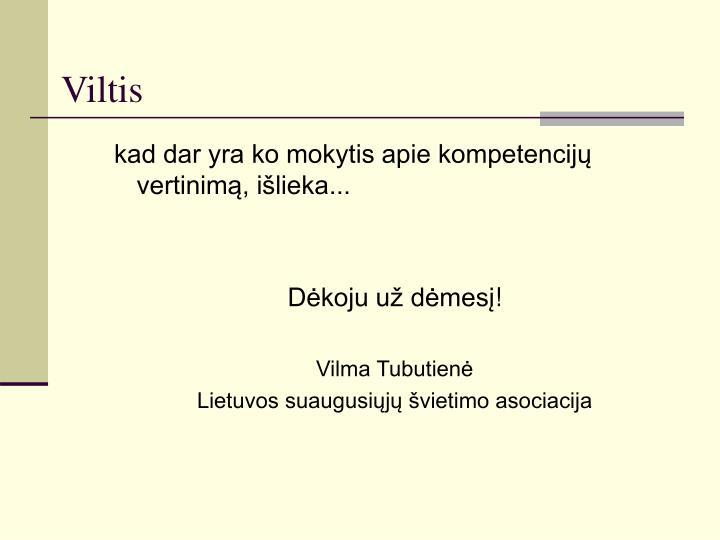 Viltis