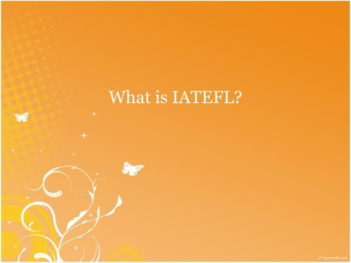 What is IATEFL?