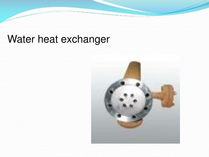 Water heat exchanger