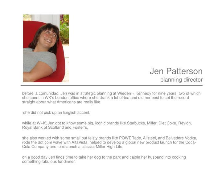 Jen Patterson