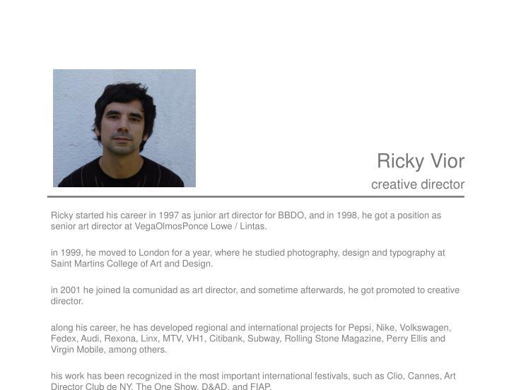 Ricky Vior