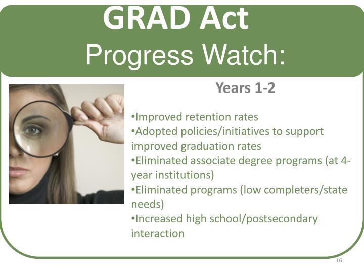 GRAD Act