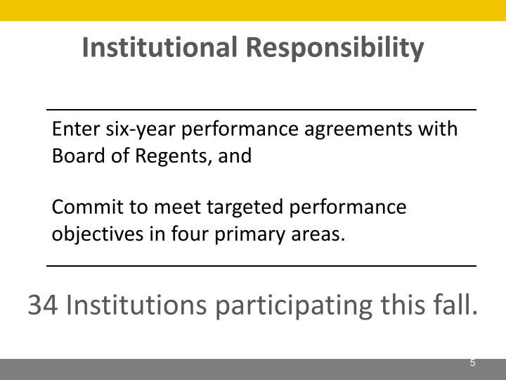 Institutional Responsibility