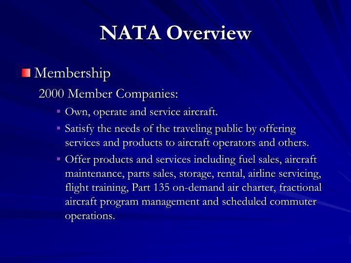NATA Overview