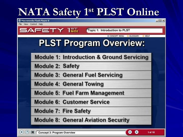 NATA Safety 1
