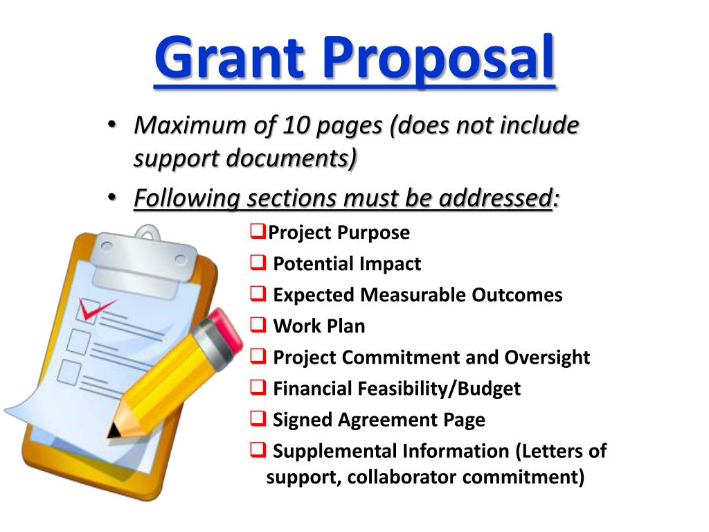 Grant Proposal