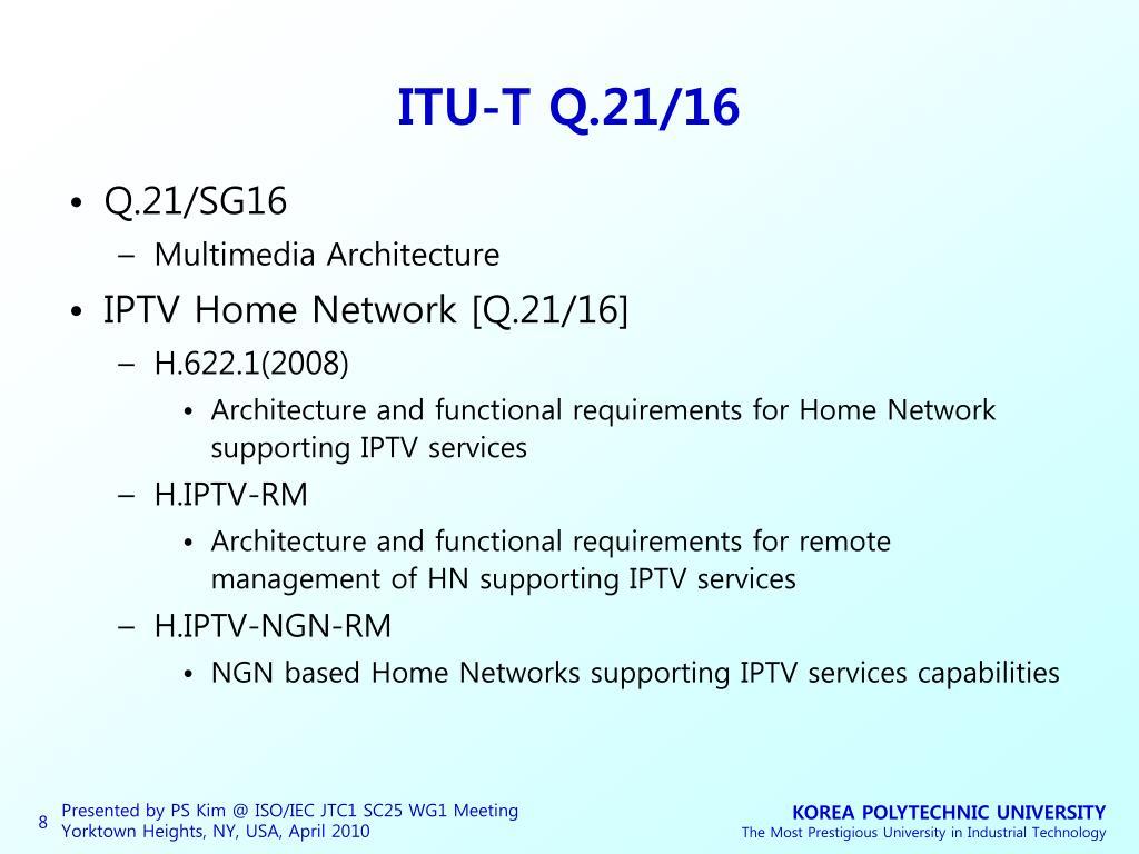 ITU-T Q.21/16