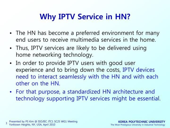 Why iptv service in hn