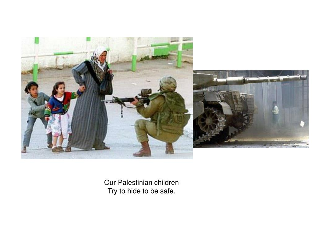 Our Palestinian children