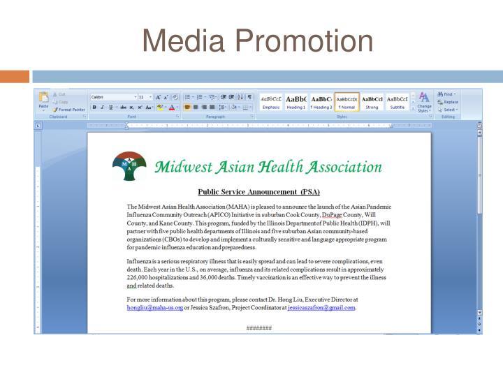 Media Promotion