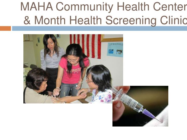 MAHA Community Health Center