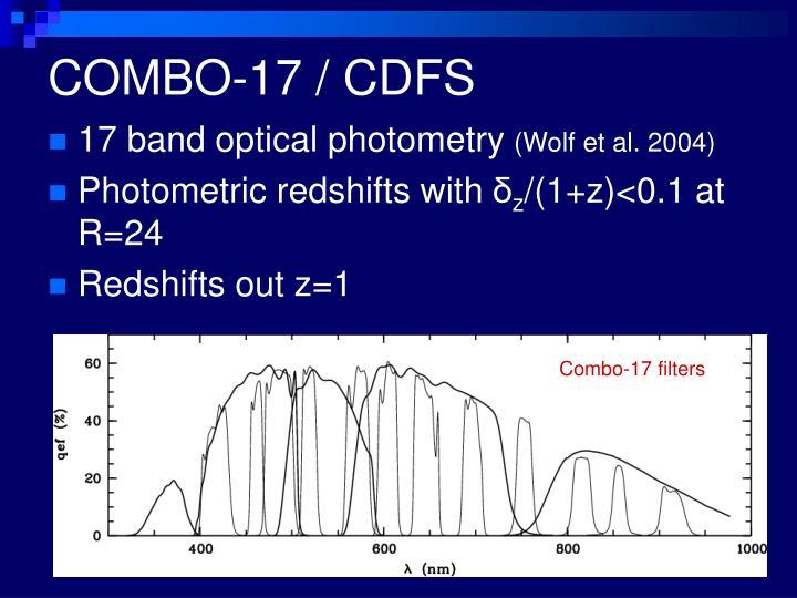 COMBO-17 / CDFS