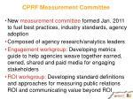 cprf measurement committee