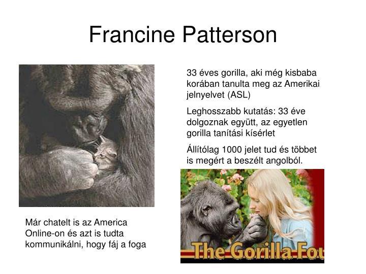 Francine Patterson