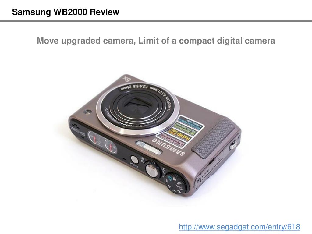Samsung WB2000 Review