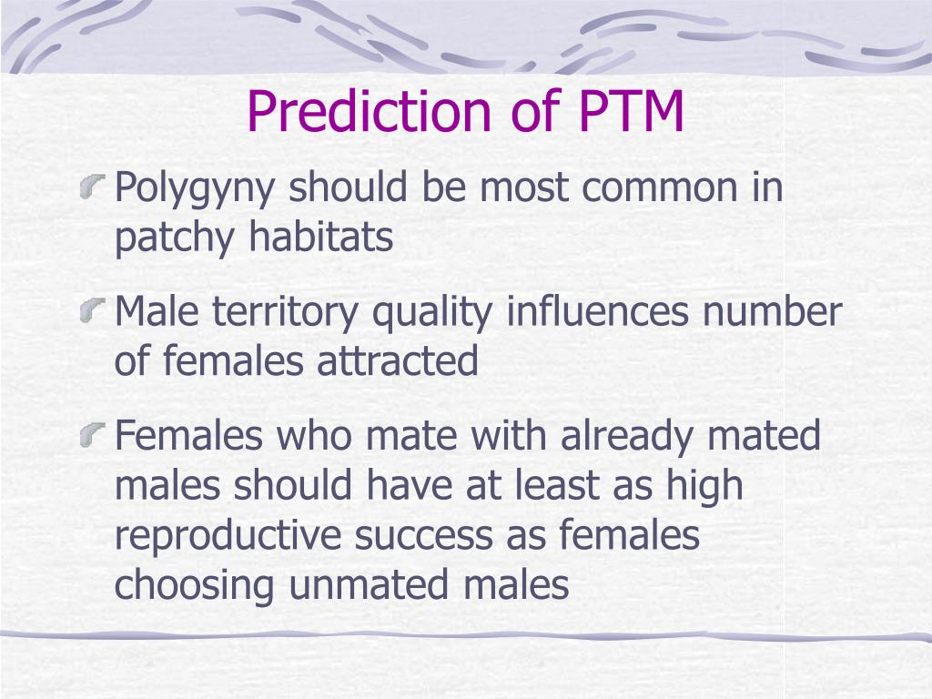 Prediction of PTM