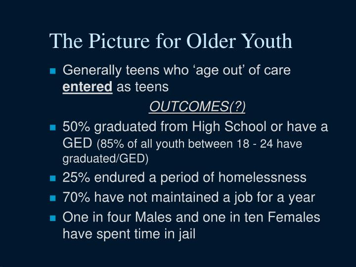 The Picture for Older Youth