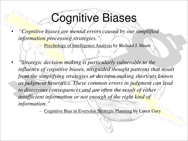 Bias cause cognitive consequence essay human in in psychology reasoning