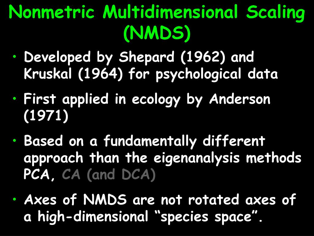 Nonmetric Multidimensional Scaling