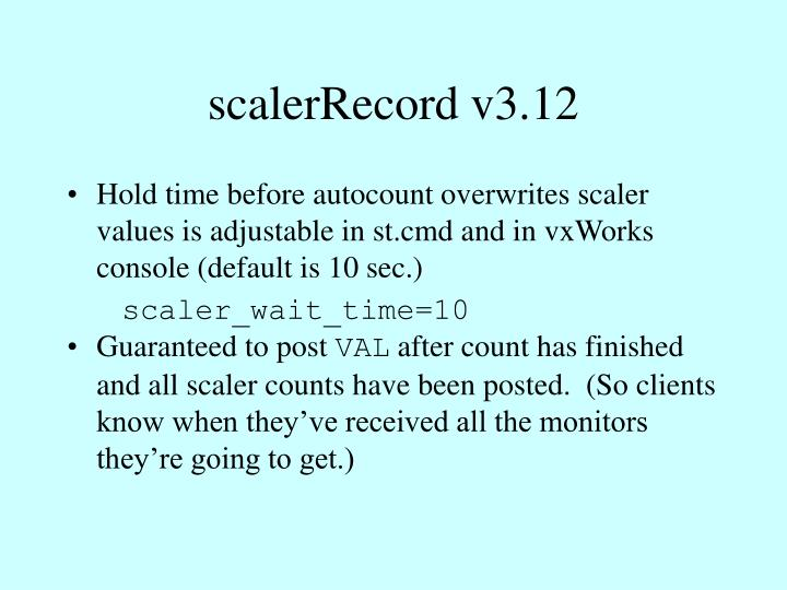scalerRecord v3.12