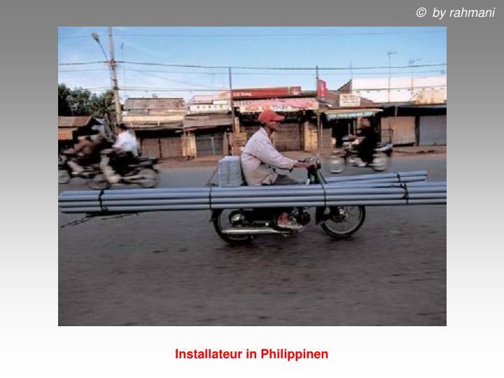 Installateur in Philippinen