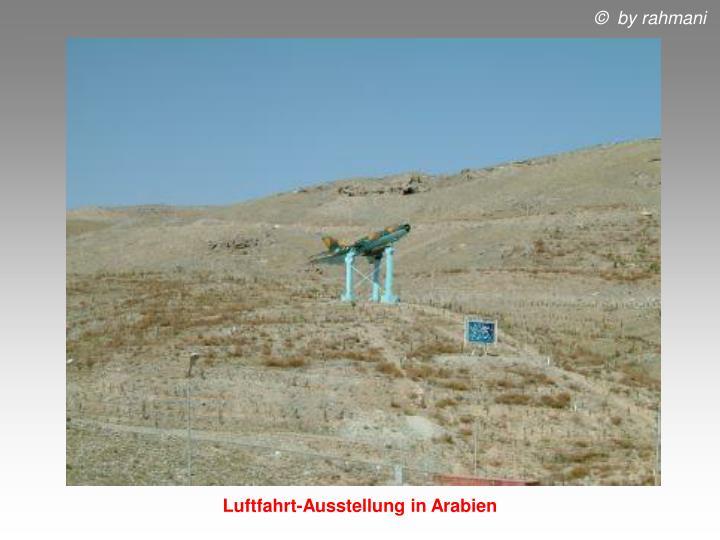 Luftfahrt-Ausstellung in Arabien