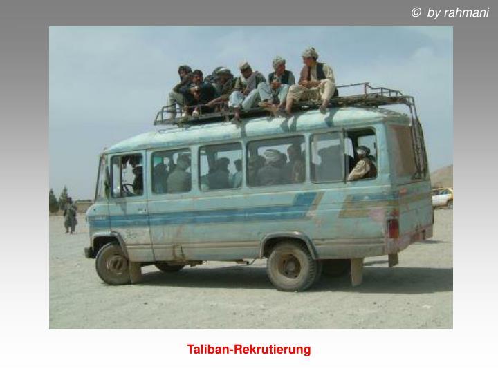 Taliban-Rekrutierung