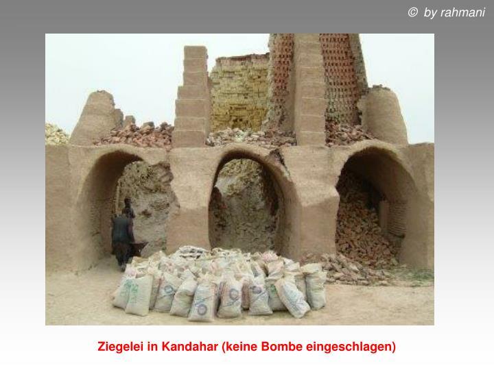 Ziegelei in Kandahar (keine Bombe eingeschlagen)