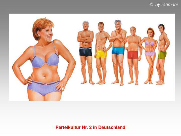 Parteikultur Nr. 2 in Deutschland