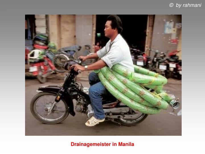 Drainagemeister in Manila