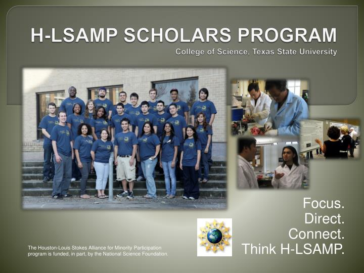 H-LSAMP SCHOLARS PROGRAM
