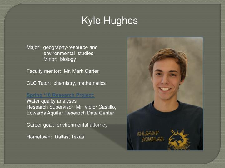Kyle Hughes