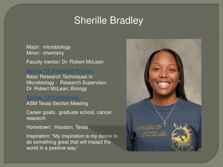 Sherille Bradley