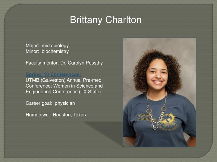 Brittany Charlton