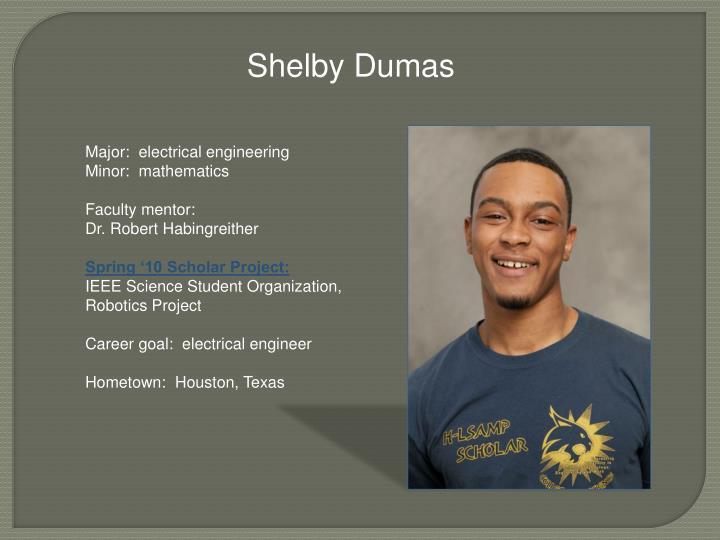 Shelby Dumas