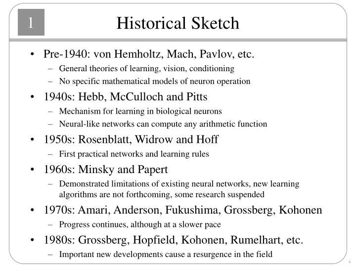 Historical Sketch