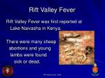 rift valley fever9