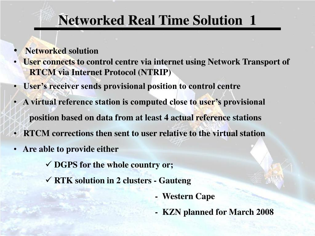 Networked Real Time Solution  1