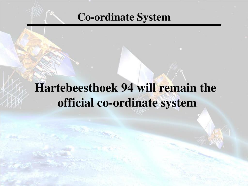 Co-ordinate System